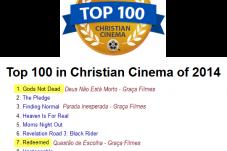 Questão de Escolha e Deus Não Está Morto estão entre os melhores filmes de 2014.